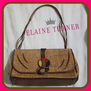 Rare Elaine Turner Handbag